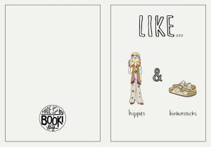 Hippie-Card